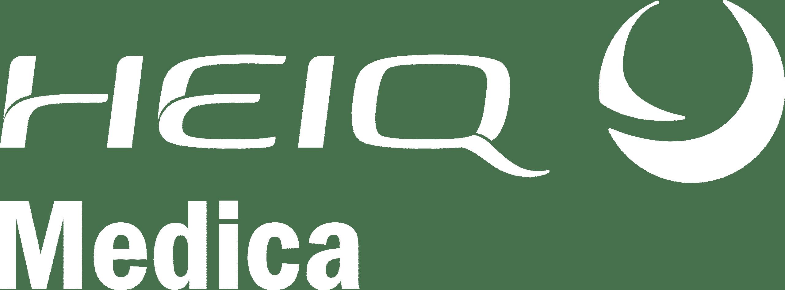 HeiQ Medica logo white