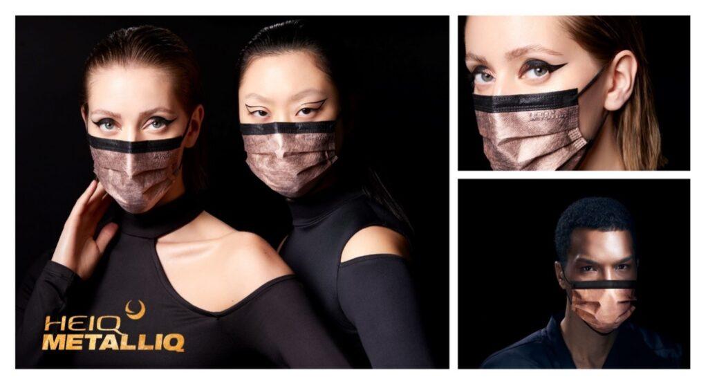 Lancement du masque HeiQ MetalliQ